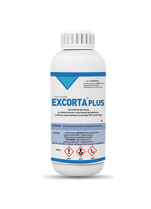 Excorta_plus - Fungicid